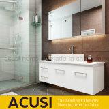 현대 작풍 백색 거는 합판 목욕탕 허영 내각 (ACS1-L61)