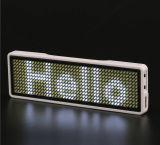 P10 Piscina único display LED de cor branca