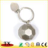 Catena chiave del metallo di gioco del calcio di sport di gioco del calcio creativo su ordinazione dell'anello portachiavi