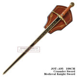 Crusader Swordmedieval Knight Espada 108cm Anote-A95
