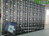 Écran polychrome d'Afficheur LED de P 4.81 pour la publicité extérieure d'intérieur de location (panneau en aluminium mince)