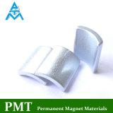 Materiale magnetico del neodimio di N38uh con zinco blu più nattier