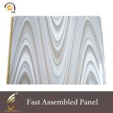 Пвх художественных древесного волокна модных и быстротой установки настенные панели управления