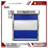 Двери завальцовки ткани PVC ввоза дверь высокоскоростной быстро промышленная