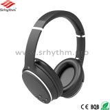 O logotipo personalizado HiFi estéreo sem fio do fone de ouvido Bluetooth com microfone Headpohone de cancelamento de ruído