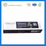 Custom высокое качество печати в сложенном виде зубная паста бумажных упаковочных материалов ящики (картонная коробка)