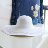カスタム縁の方法夏のソフト帽のペーパー麦わら帽子の女性