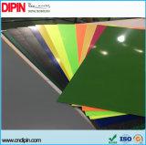 Лазер гравируя двойной лист пластмассы цвета
