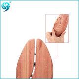 芳香のヒマラヤスギ木は元のカラーに木製の靴の木をする