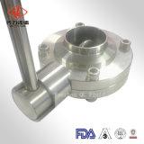 3A標準304L/316Lステンレス鋼の蝶弁との工場価格