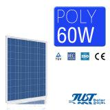 イランの市場のための太陽エネルギー60W多PVのモジュール