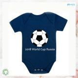 OEM печать детский одежды Custom World Cup малыша Bodysuit