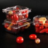 Cadre/plateau en plastique remplaçables clairs de conteneur de la nourriture pp de PP/PVC/Pet/PS