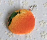 فصل صيف حالة حبّ كلّ - [3د] بطيخة, ليمون ثمرات - [10كم] قطيفة قطر عملة محفظة & محفظة كيس حالة حقيبة; جيب عملة حقيبة كيس