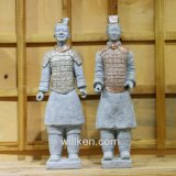 Xi'an réplicas de estatuas antiguas decoración Jardín Guerreros de Terracota estatua
