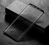 Samsung Galaxys8のための3Dによって曲げられる緩和されたガラススクリーンの保護装置のフィルム