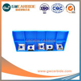 鋼鉄、鋳鉄、ステンレス鋼のためのTnmg1608炭化物の挿入