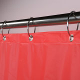 Waterproof Mildew Free PVC Shower Curtain with Rust Free Grommets