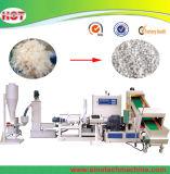 Überschüssige Plastiktaschen PE/PP, die Strangpresßling-Maschine aufbereiten