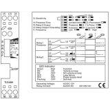 Doppelter Kanal-Auto-Parken-Management-induktive Schleifen-Fahrzeug-Detektor