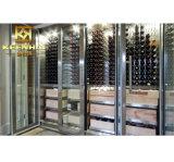 Keenhai modificó los estantes comerciales del vino para requisitos particulares del acero inoxidable