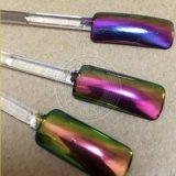 De vernis à ongles colorant de caméléon de miroir de chrome ultra