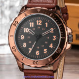 Reloj de encargo del hombre del OEM, reloj de manera del cuarzo, muñeca mirada para los hombres (WY-17015A)