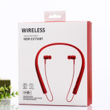 La reducción de ruido los auriculares estéreo de llamada de alerta de vibración para cuello audífono Bluetooth