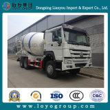 Sinotruk HOWO 6X4 371HP 10m3の具体的なミキサーポンプセメントのトラック