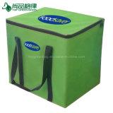 Fördernder Zoll Zippered starkes Griff-Grün Isoliernahrungsmittelmittagessen-Beutel