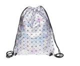 Sac de cordon de sac à dos de sport de la qualité 600d+Mesh pour l'homme