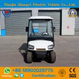 Marca Zhongyi 2 lugares com carros de golfe Eléctrico Caixa Traseira