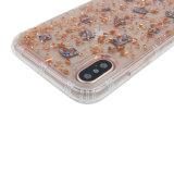 Bling Funkeln mit weichem TPU Handy-Fall des Shell-für iPhone X
