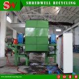 Dois Triturador de eixo para a reciclagem de Pneu Usado/pneu/Srap resíduos de madeira/metal utilizado
