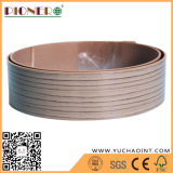 1,5X40 cantos de PVC de grano de madera para muebles