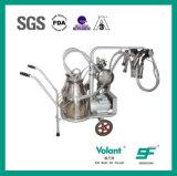 Mungitrice sanitaria dell'acciaio inossidabile per lo stabilimento lattiero-caseario