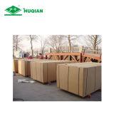 Prix en gros 1220X2440X7.0mm E2 du bois de construction 7mm de mélamine