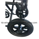 """12 """" rueda trasera, sillón de ruedas manual de acero Kbw871e"""