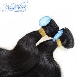 Бразильские волосы объемной волны связывают волос Remy человеческих волос