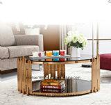 전문화된 생산에 의하여 주문을 받아서 만들어지는 작은 짧은 다리 커피용 탁자