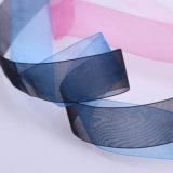 Nuevo diseño Dlower impreso de la formación de espuma de cinta de organza.
