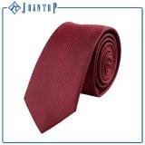 Preço baixo estoque de poliéster artesanais gravata para homem