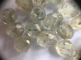 보석 기업 공구 Hpht 다이아몬드 CVD 다이아몬드를 위한 큰 크기 백색 천연 다이아몬드