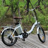 大人のための電気自転車を折る250W