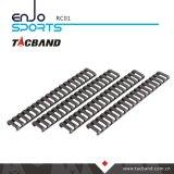 Крышки защиты топливораспределительной рампы Picatinny стиль лестницы мягкие резиновые 18 разъемов черного цвета
