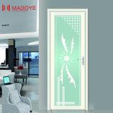 装飾のホテルのための物質的な曇らされたガラスの洗面所のドア