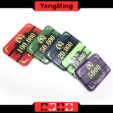 760PCS Neue Entwurfs-Schürhaken-Chip-/Acrylic-Chip-erstklassiges bronzierendes Kasino-Chipset (YM-LCTJ003)