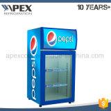 飲料のクーラー、ガラスドアが付いているカウンタートップの小型冷却装置