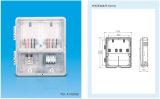 شفّافة حاسوب [متريلس] [سنغل فس] اثنان عدّاد عال حماية درجة طاقة عدّاد صندوق (نموذج [لرب-1ب2م001])