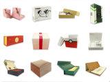 Empaquetado de encargo de la cubierta de la caja de cartón de cuatro de los colores rectángulos de regalo